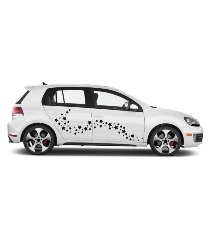 Nálepka na autá - Hviezdy (balíček)