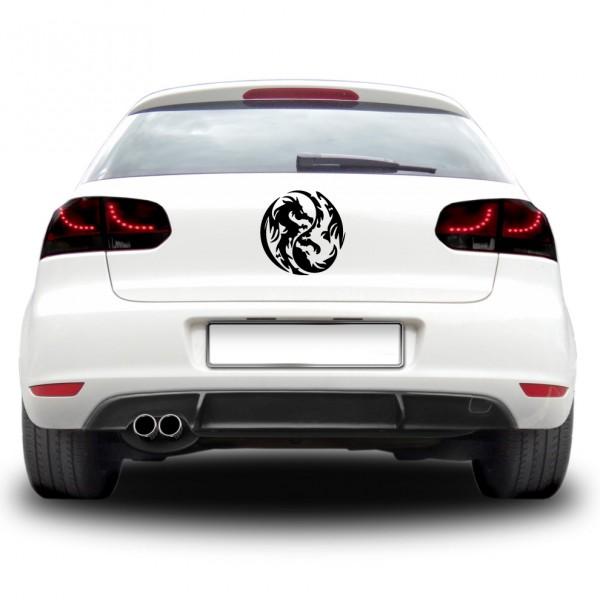 Auto nálepka - Duchovný drak