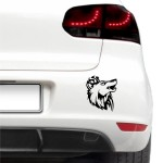 Auto nálepka - Vlk