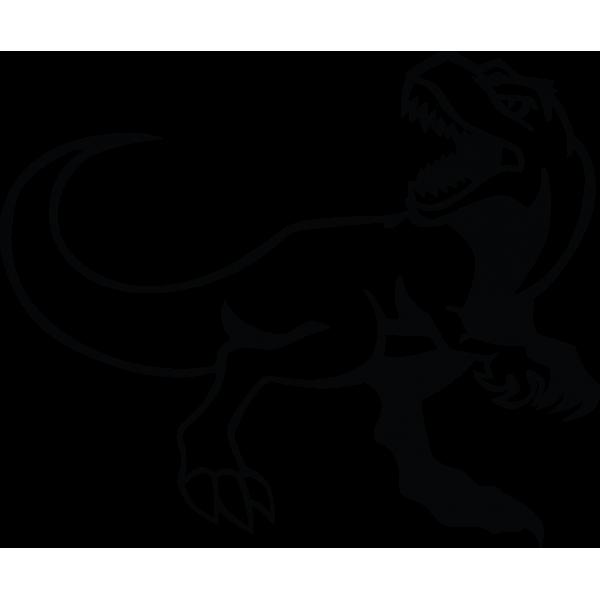 Auto nálepka - Dinosaurus