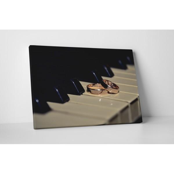 Snubné prstene na klavír