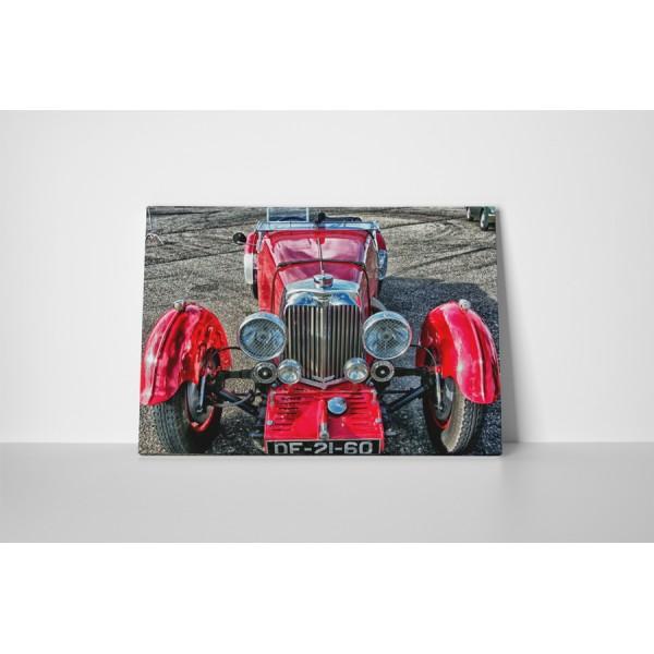 Červený Oldsmobile