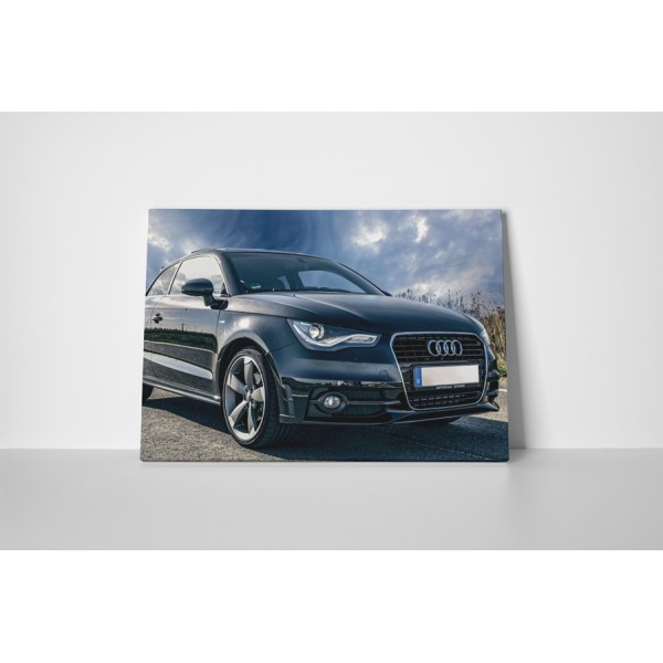 Audi čierny