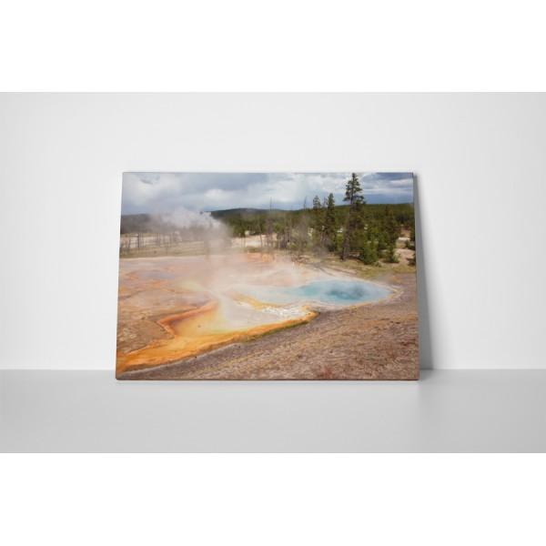 Gejzíry v Yellowstone