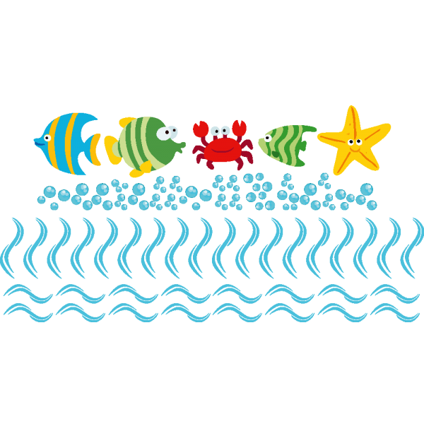 Farebné morské zvieratá