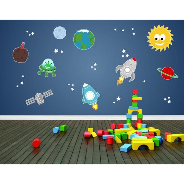 Vesmír - Farebný nálepkový balík