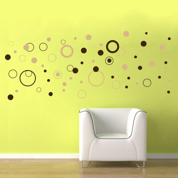 Bubliny - Farebný nálepkový balík