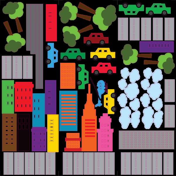 Farebné mesto