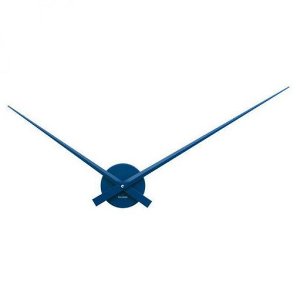Nástenné hodiny Karlsson - Little Big Time Mini, modré