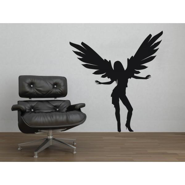 Anjel dievča