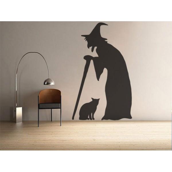 Bosorka s mačkou