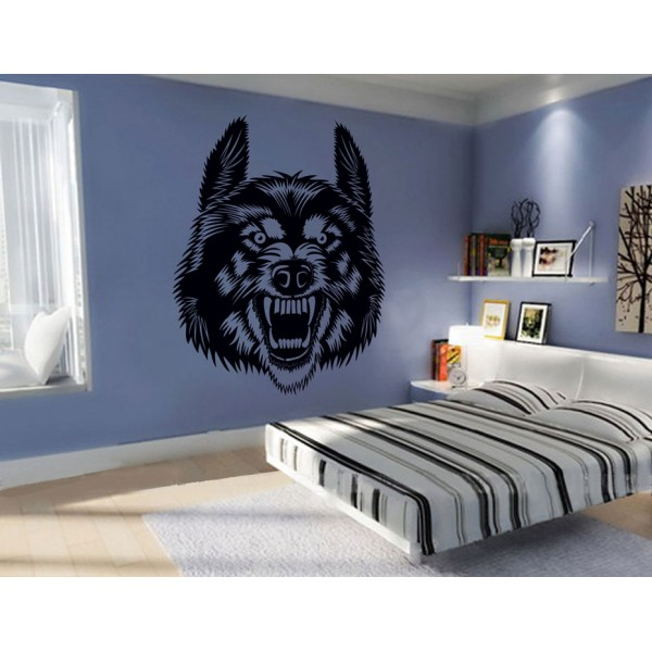 Agresivný vlk