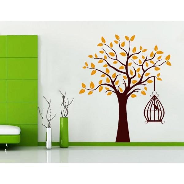 Vták na strome (viacfarebný)