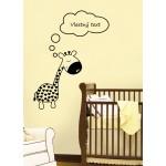 Veselá žirafa + Vlastný text