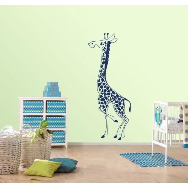 Hrdá žirafa