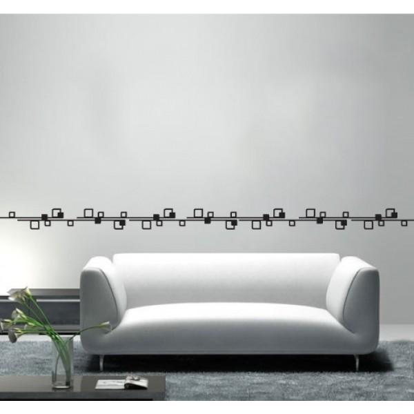 Bordúry na stenu - Kocky