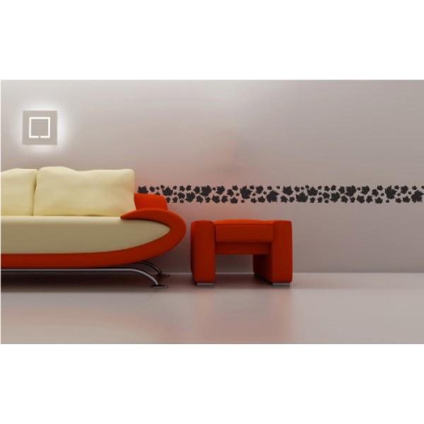 Bordúry na stenu - Lístia
