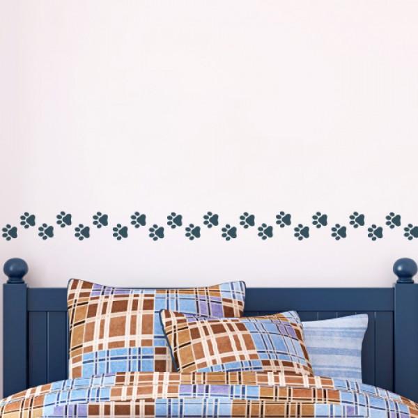 Bordúry na steny - Labky