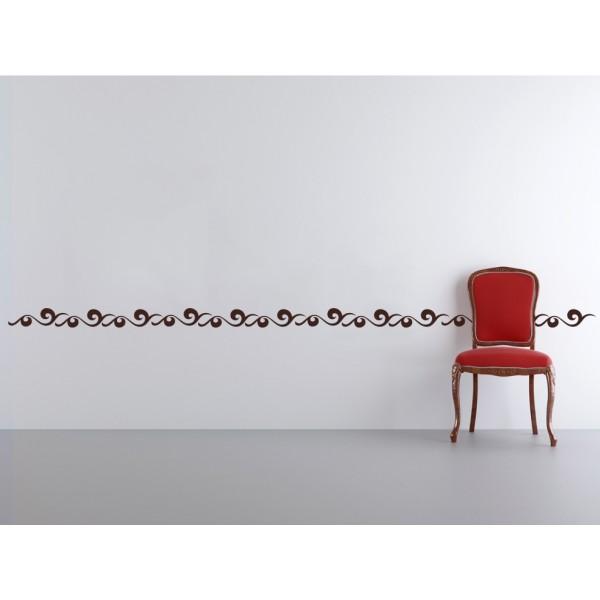 Bordúry na steny - Vlny