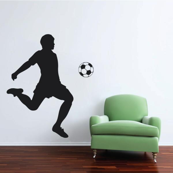 Futbalista a lopta