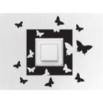 Balíček s nálepkami pre zásuvky a spínače - Motýle