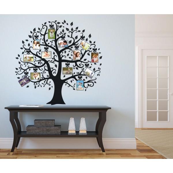 Strom života s fotkami