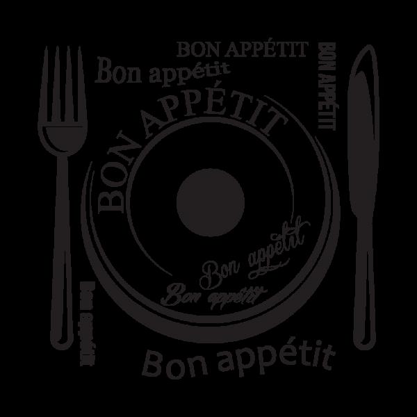 Bon Appétit + nástenné hodiny