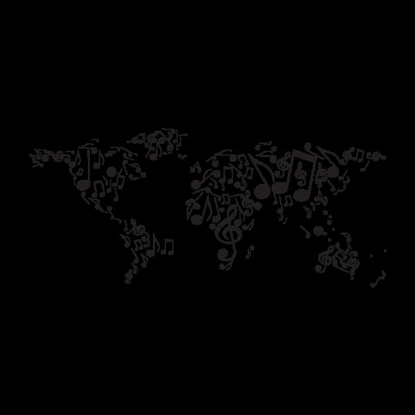 Hudobná mapa sveta