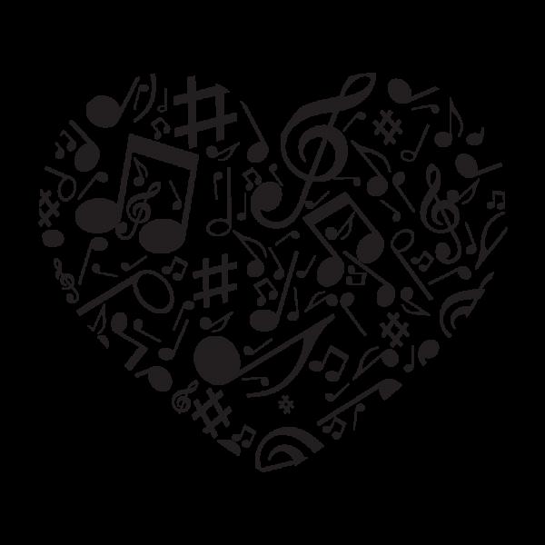 Hudobné srdce