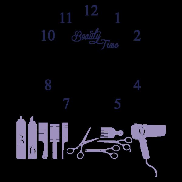 Beauty Time + Nástenné hodiny (Viacfarebné)
