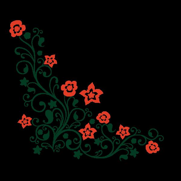 Exotické kvety (viacfarebné)