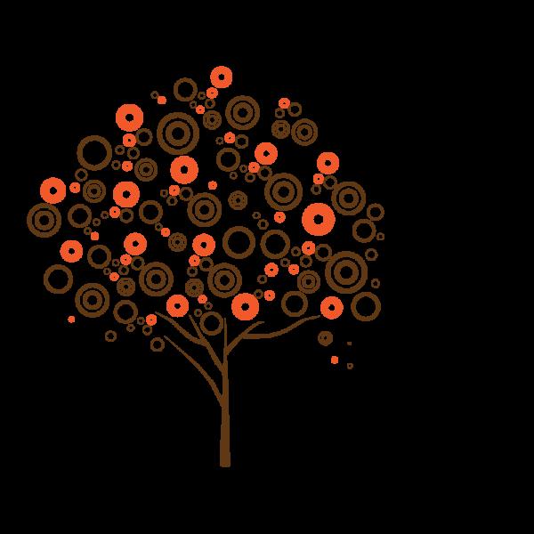 Bublinový strom (viacfarebný)