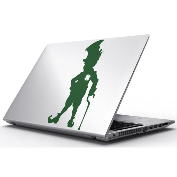 Nálepky pre Notebook - Írsky škriatok