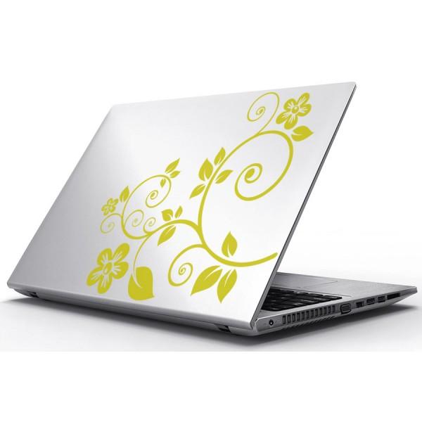 Nálepky pre Notebook - Listy a kvety