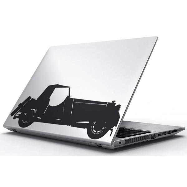 Nálepky pre Notebook - Klasický automobil