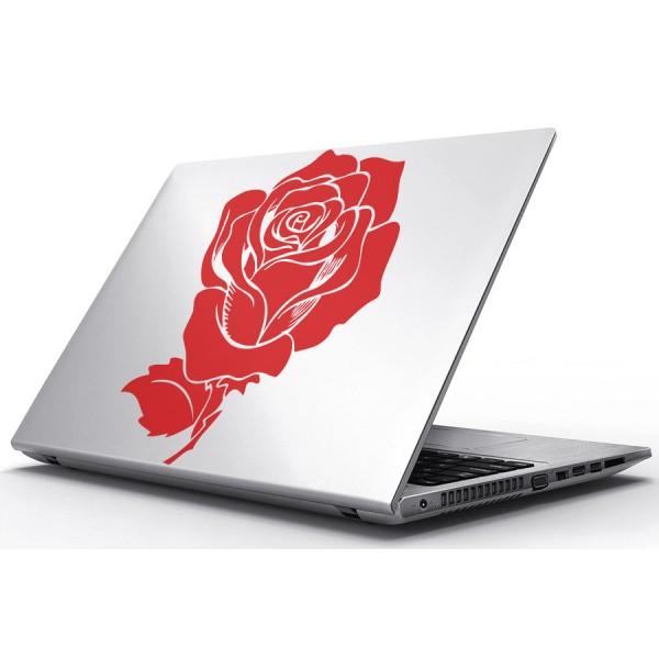 Nálepky pre Notebook - Odkvitnutá ruža