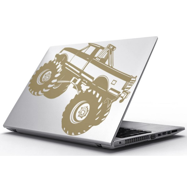 Nálepky pre Notebook - Monster truck