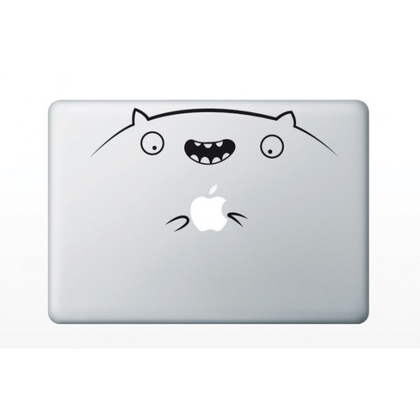 Nálepky pre MacBook - Veselý škrečok