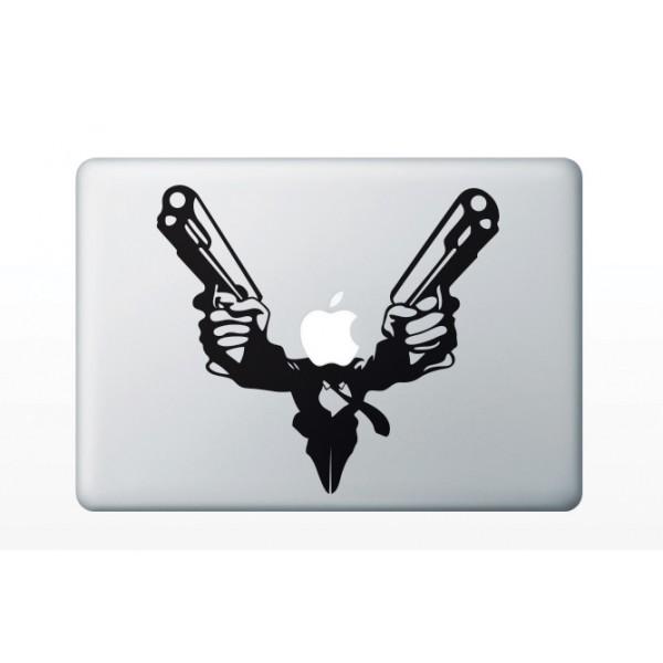 Nálepky pre MacBook - Hrdina