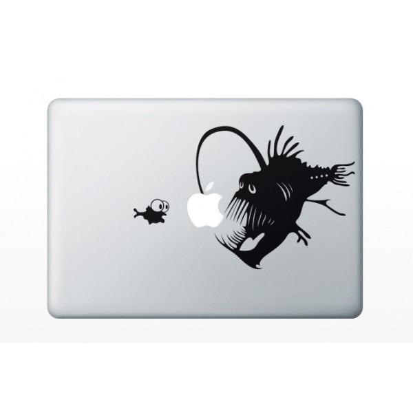 Nálepky pre MacBook - Morský čert