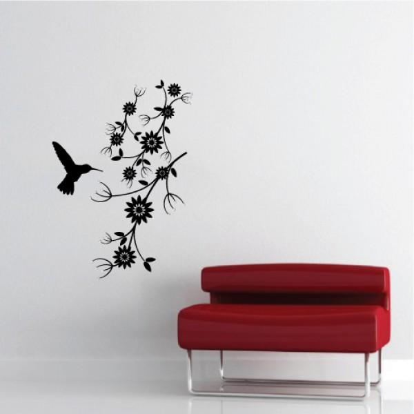 Kolibrík + kryštály Swarovski